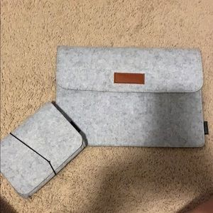 MacBook case and cord case